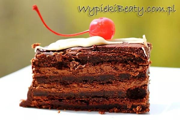 torcik mocno czekoladowy
