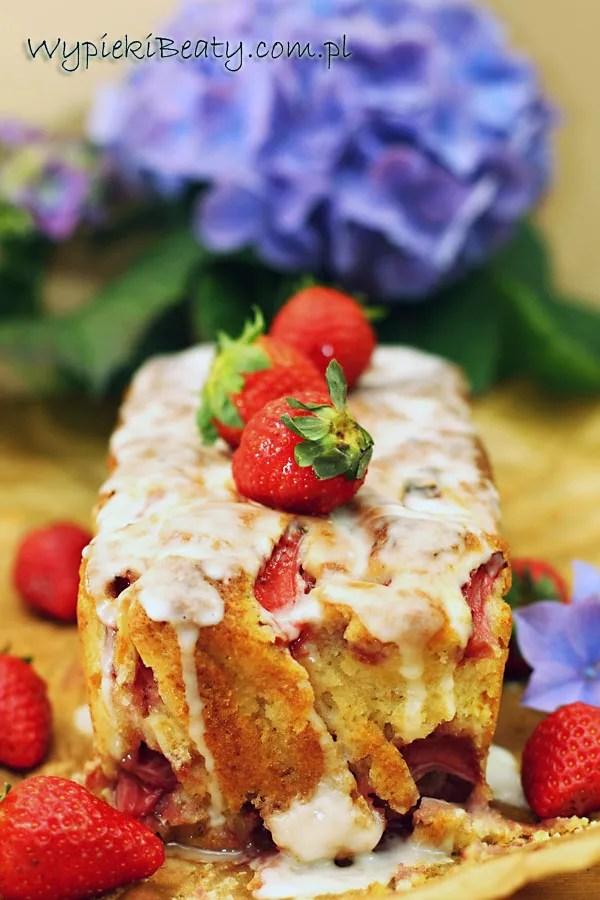 ciasto truskawkowe na maślance