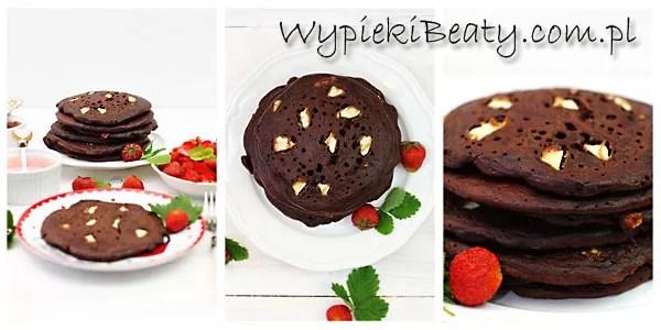 czekoladowe pancakes piegowate zbiorowe
