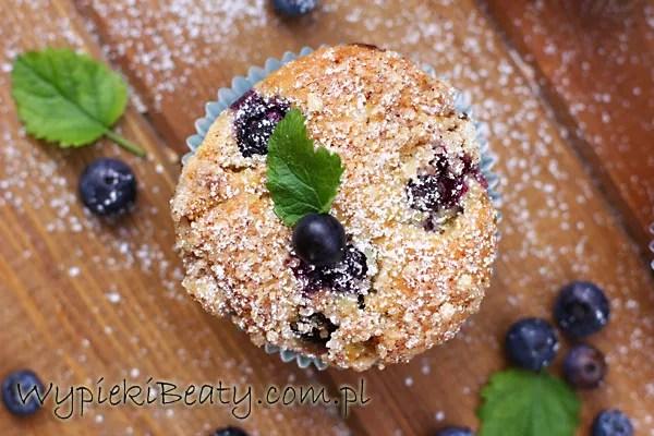 muffinki twarogowe z borówkami3