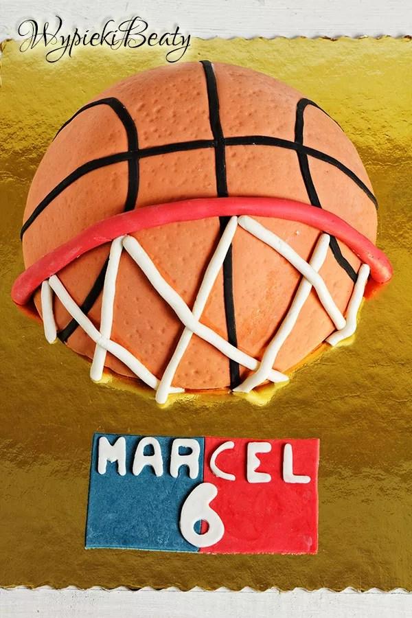 tort koszykówka basketball cake