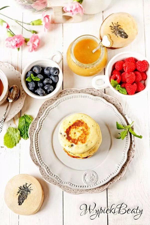 pancakes z borówkami 3