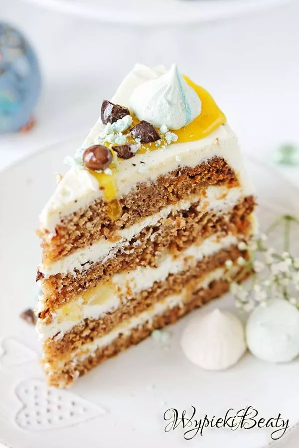 tort ananasowo-bananowy 5
