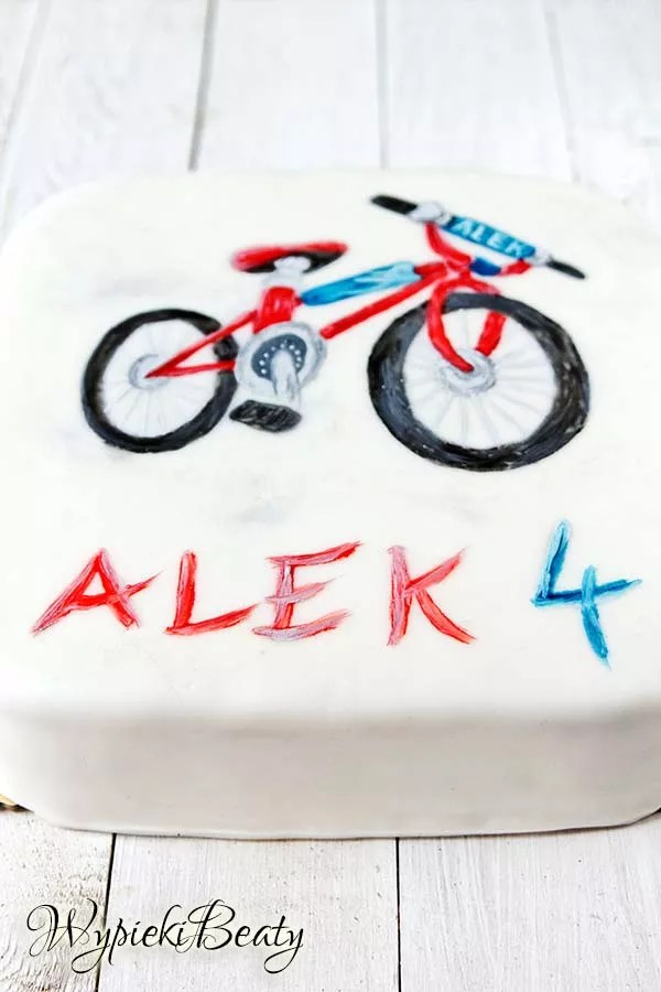 tort z rowerem 5