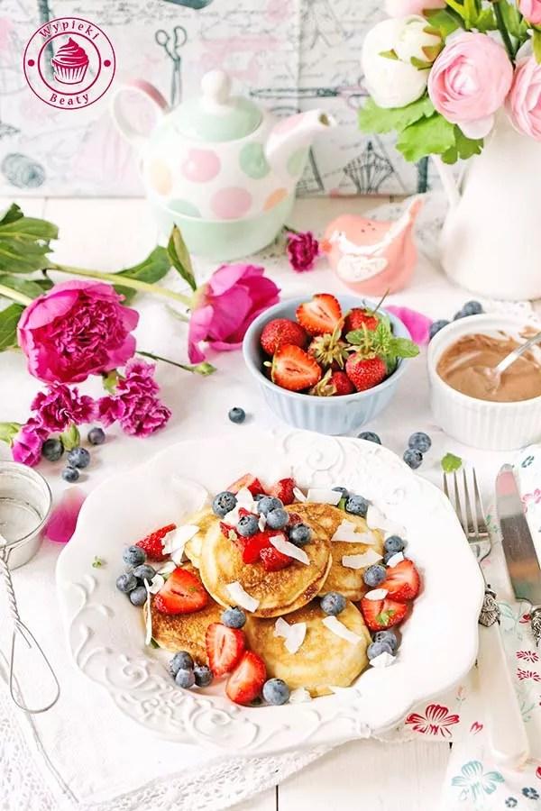 kokosowe pancakes 1