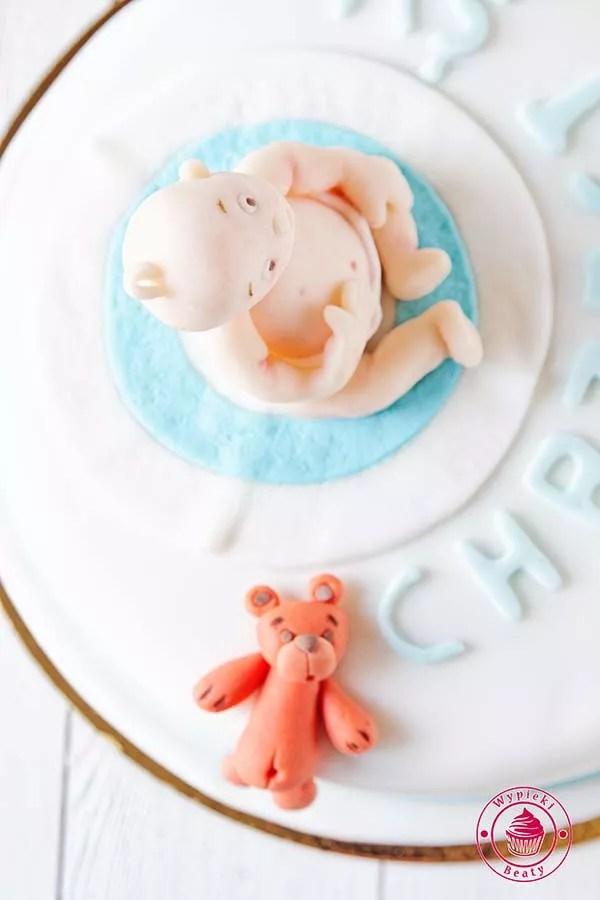 tort na chrzest olka 5