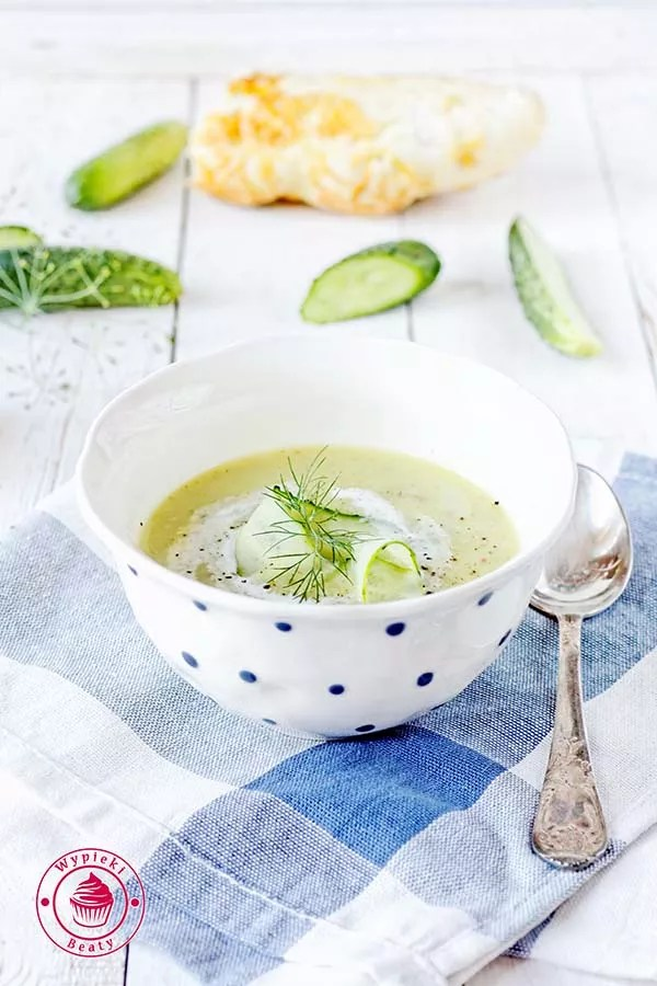 zupa krem z ogórków