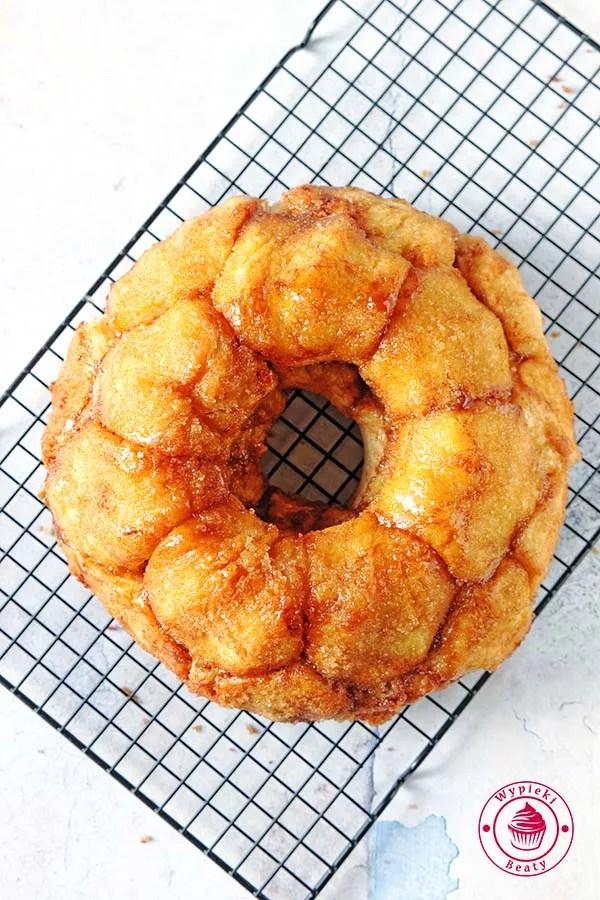 ciasto drożdżowe odrywane