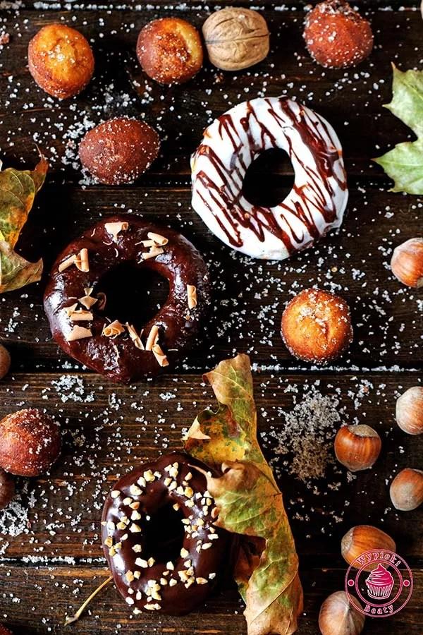 jesienne donuty