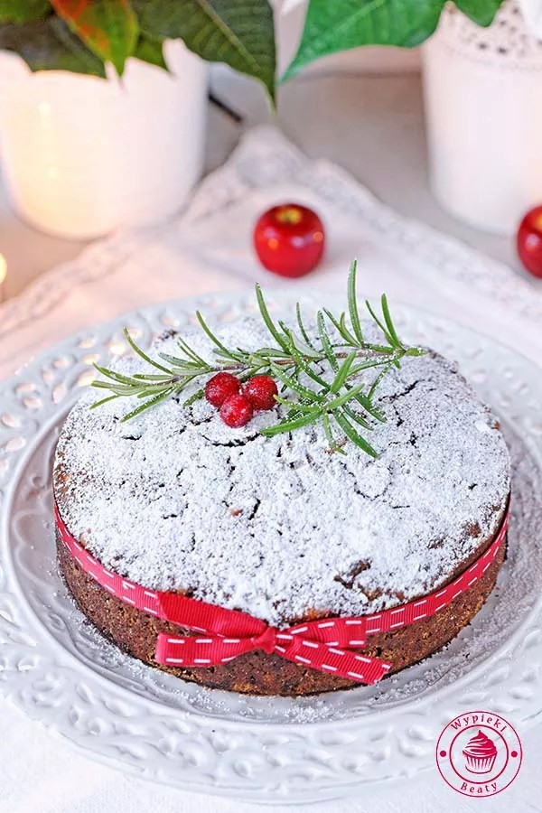 ciasto z bakaliami na święta