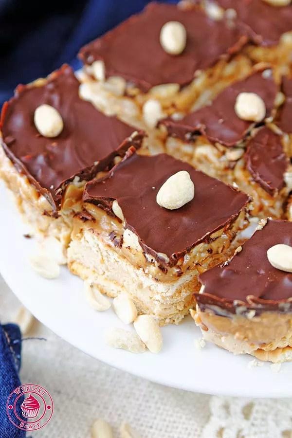 snickers bez pieczenia
