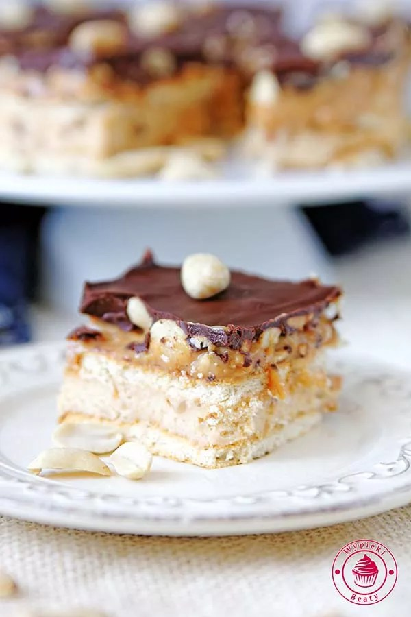 ciasto snickers