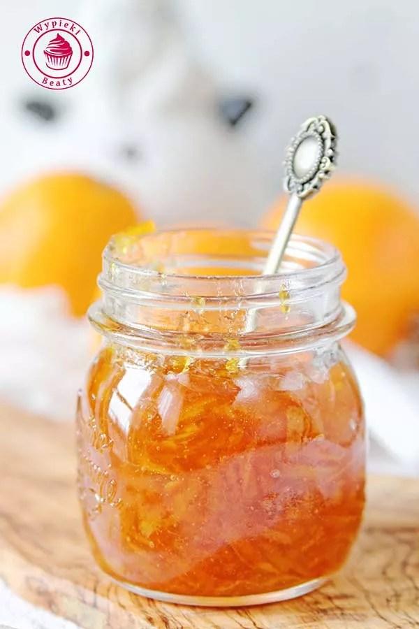 konfitura pomarańczowa