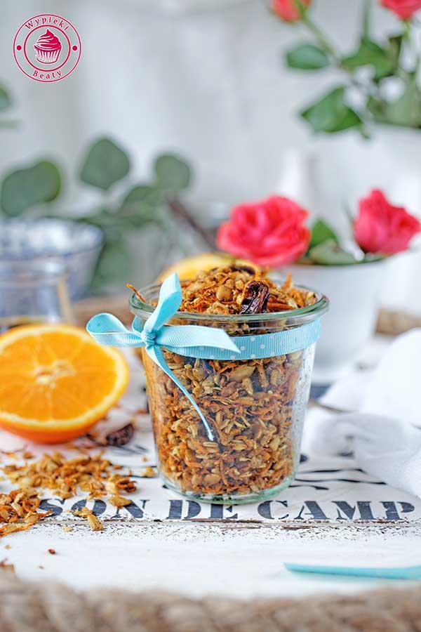 marchewkowa granola