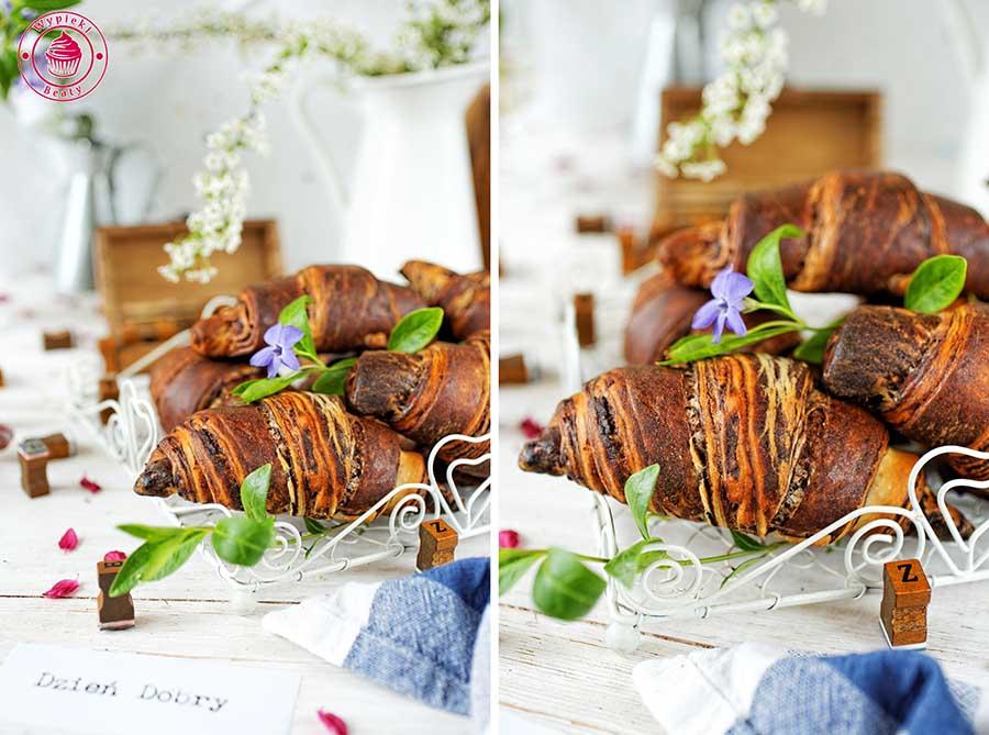 czekoladowe croissanty