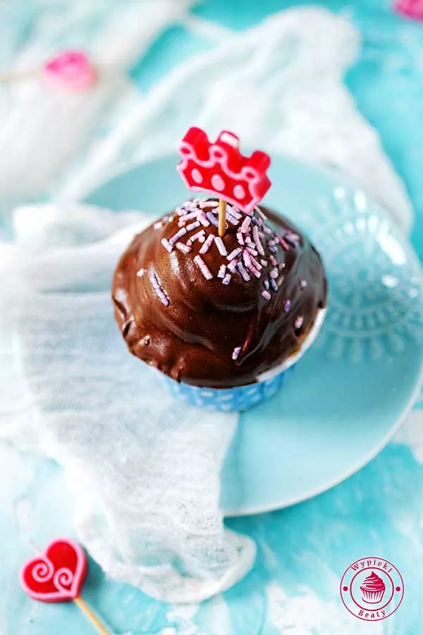 babeczki czekoladowe idealne na przyjęcie dla dzieci