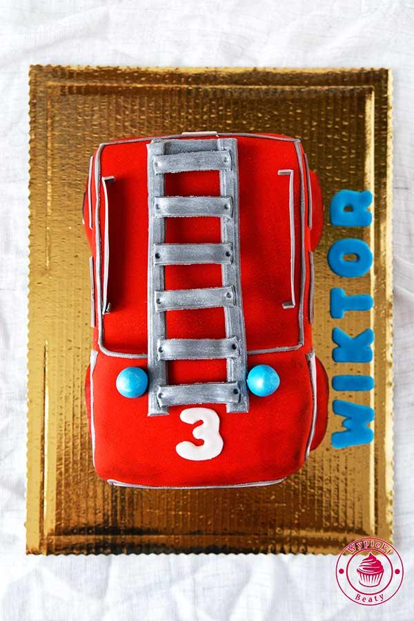 tort samochód straży pożarnej