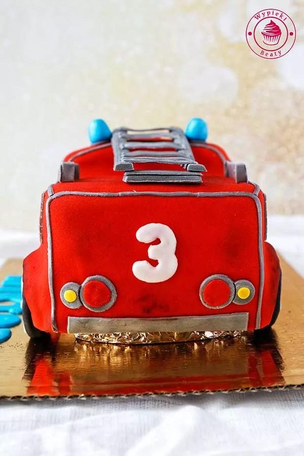 tort dla chłopca straż pożarna