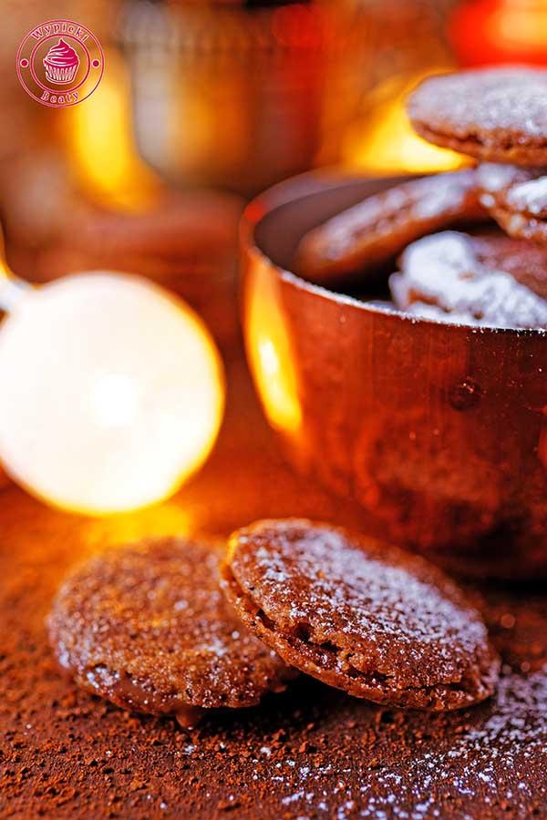 ciasteczka kawowo-czekoladowe