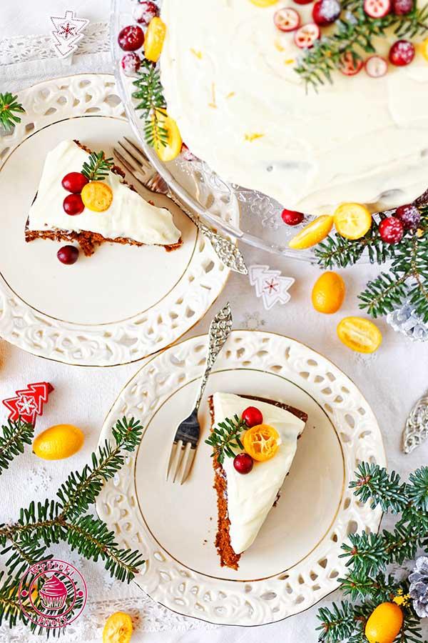 ciasto piernikowe z melasą