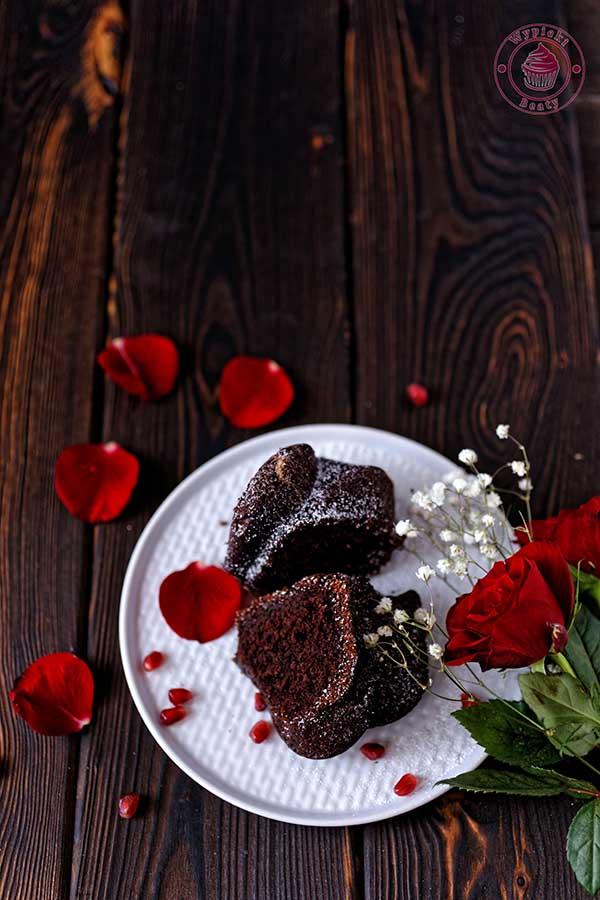 czekoladowa babka z chili
