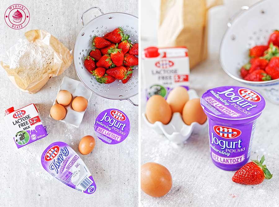 mlekowita bez laktozy jogurt naturalny