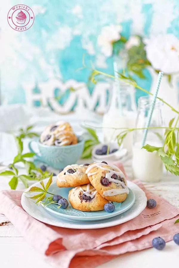 ciasteczka z borówkami