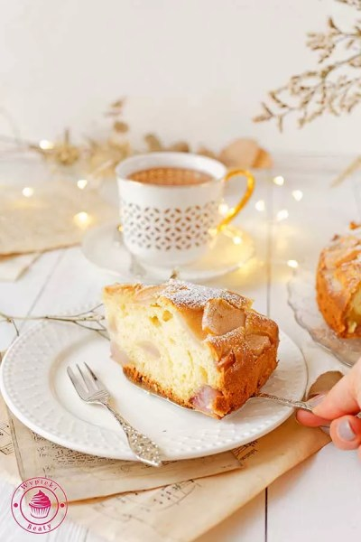 włoskie ciasto z gruszkami i mascarpone