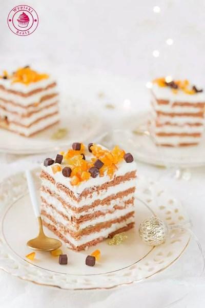kostka czekoladowa z pomarańczami