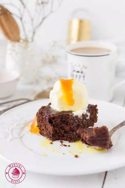 ciasto czekoladowe z cieciorką
