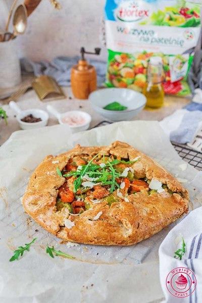 wegetariańska tarta rustykalna