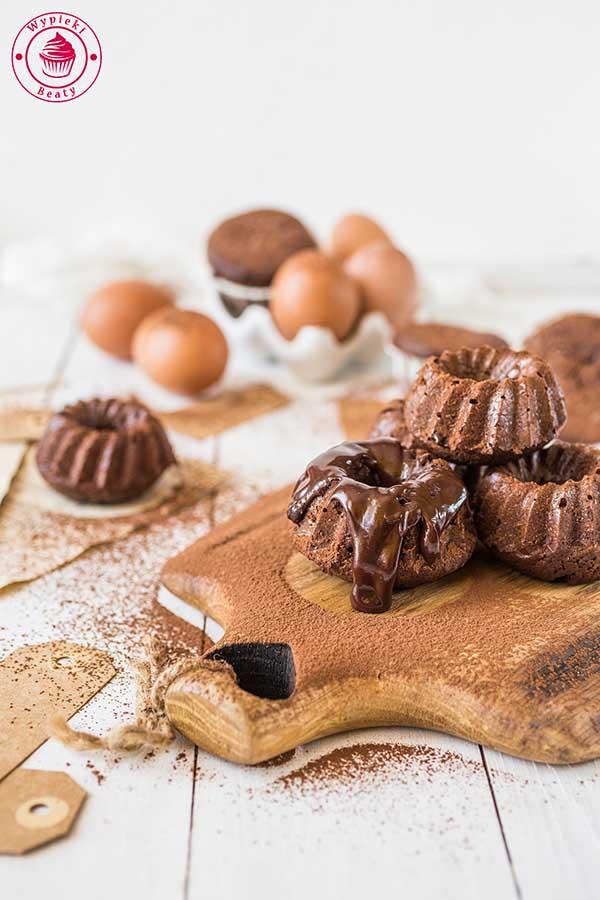 babeczki podwójnie czekoladowe