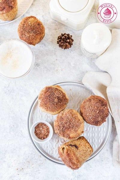 czekoladowe muffinki z cynamonem