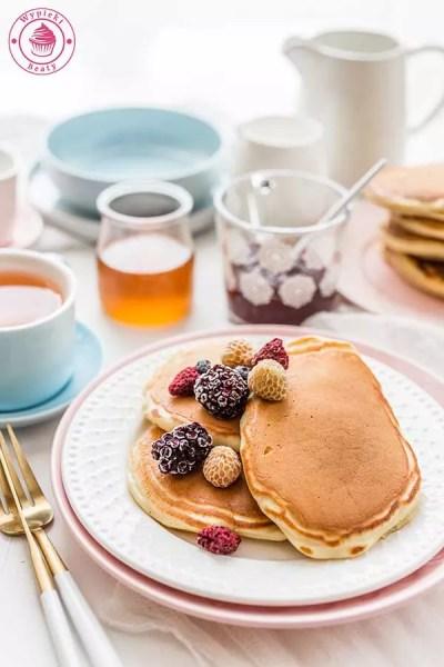 puszyste placuszki na śniadanie