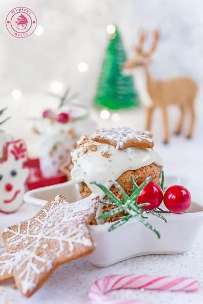 muffiny piernikowe z czekoladą
