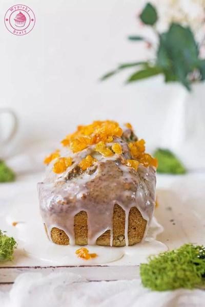 ciasto szpinakowe z orzechami