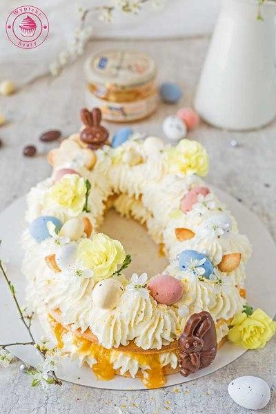 tort jajo na wielkanoc