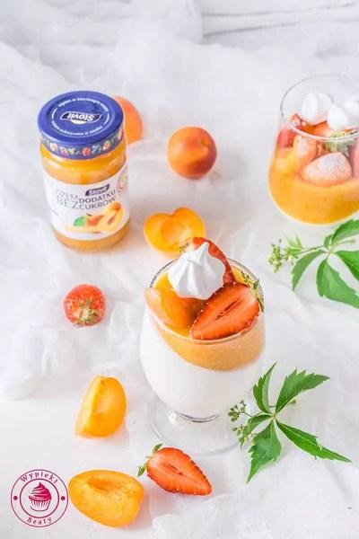 fit deser jogurtowy