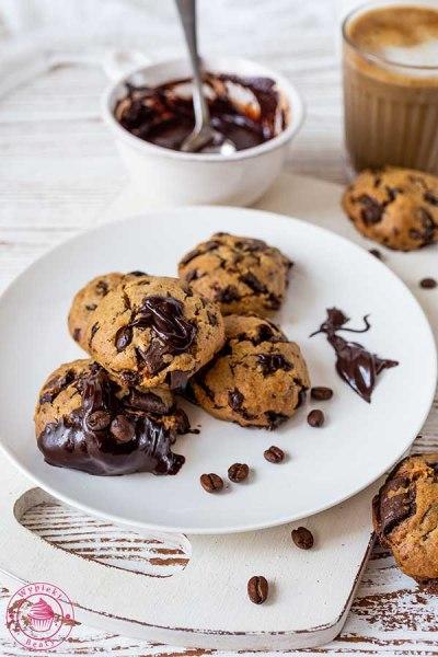 proste ciastka czekoladowe z kawą