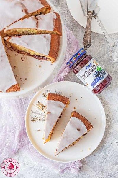 proste i szybkie ciasto z lukrem