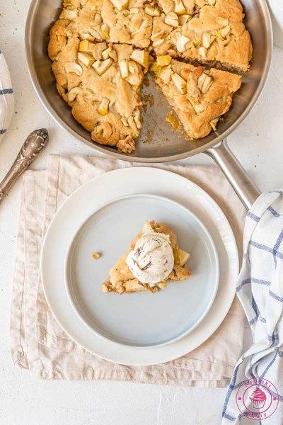 ciasto pieczone na patelni
