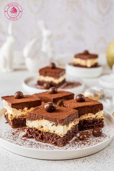 czekoladowe ciasto z musem czekoladowym