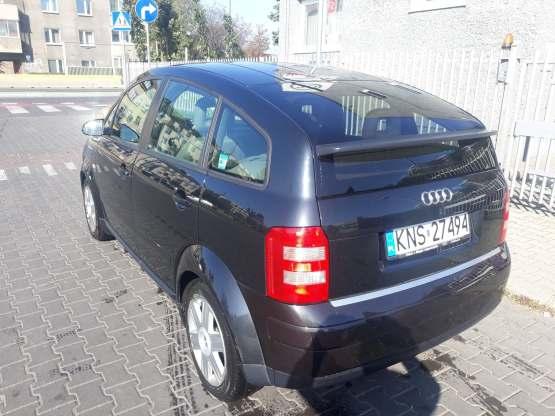 Wynajem Audi A2 Kraków