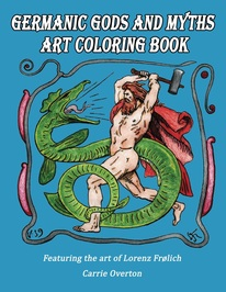 Lorenz Frolich Coloring Book Book Cover