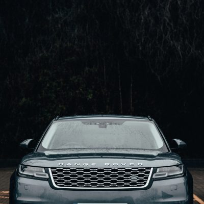 range rover view of front