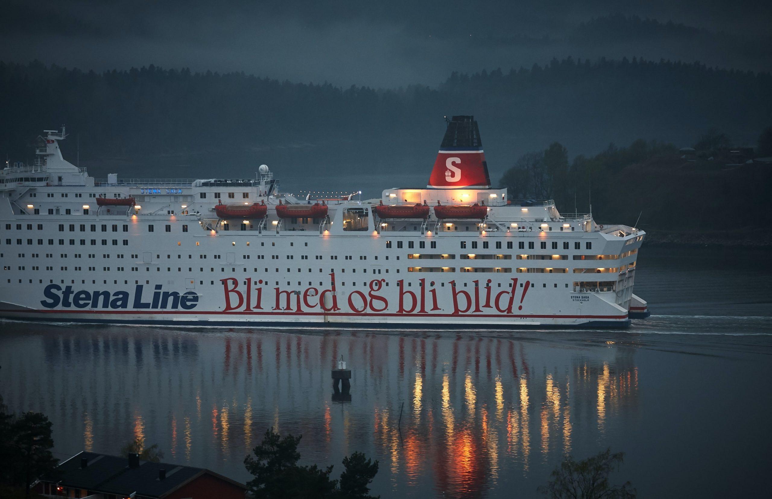 stenaline ferry on a passage