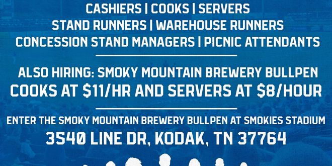 Smokies hosting Food and Beverage Job Fair