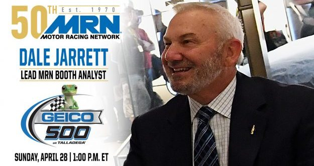 MRN:  Dale Jarrett latest Hall of fame driver to grace airwaves