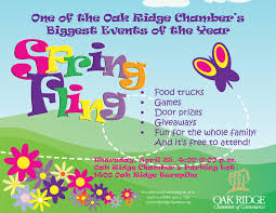 Oak Ridge Chamber Spring Fling event Thursday