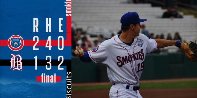 Smokies rally in 9th, top Barons on road